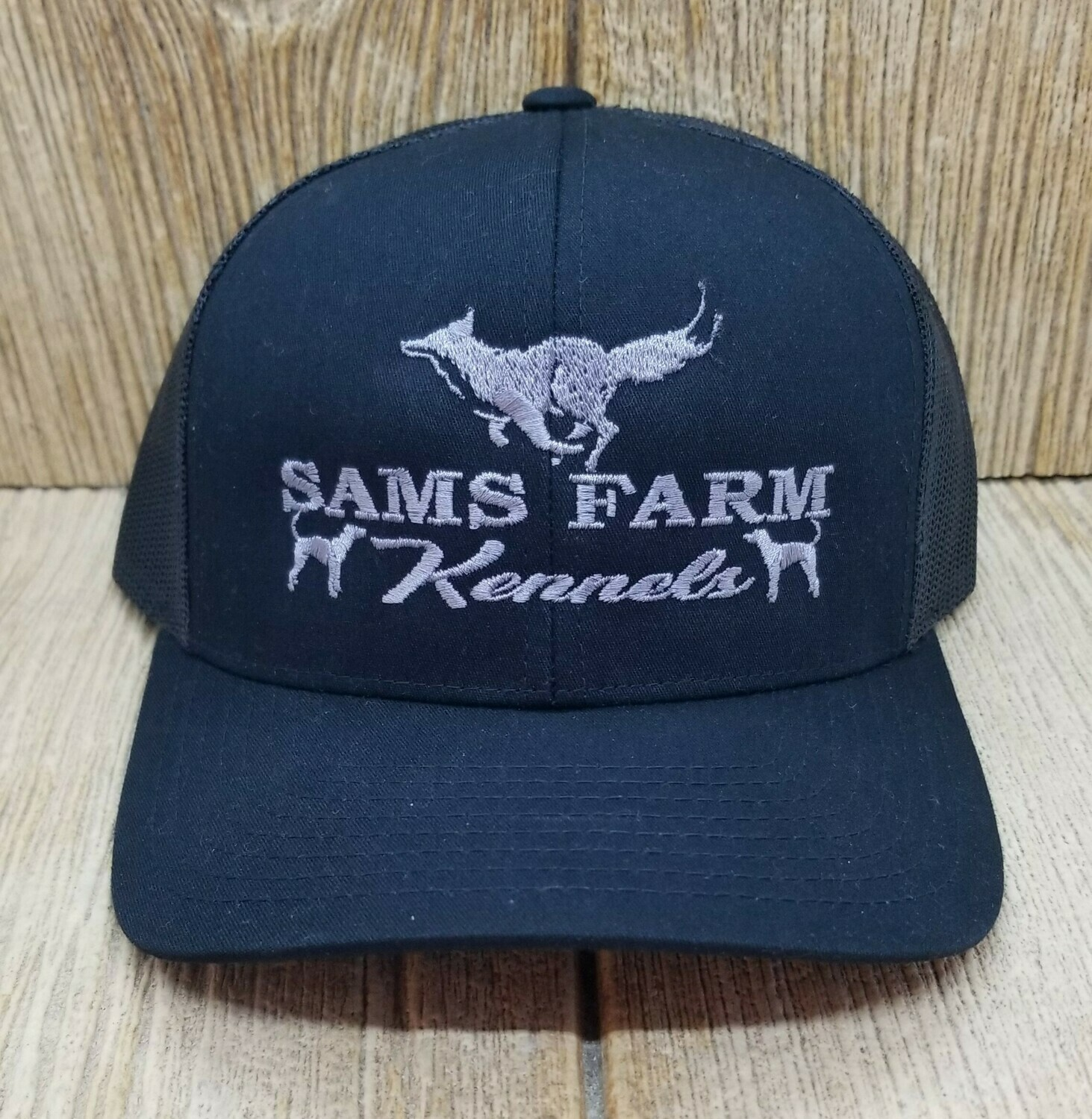 Fox + Dog Adjustable Custom Hat - 44 Hat Colors Available!!!
