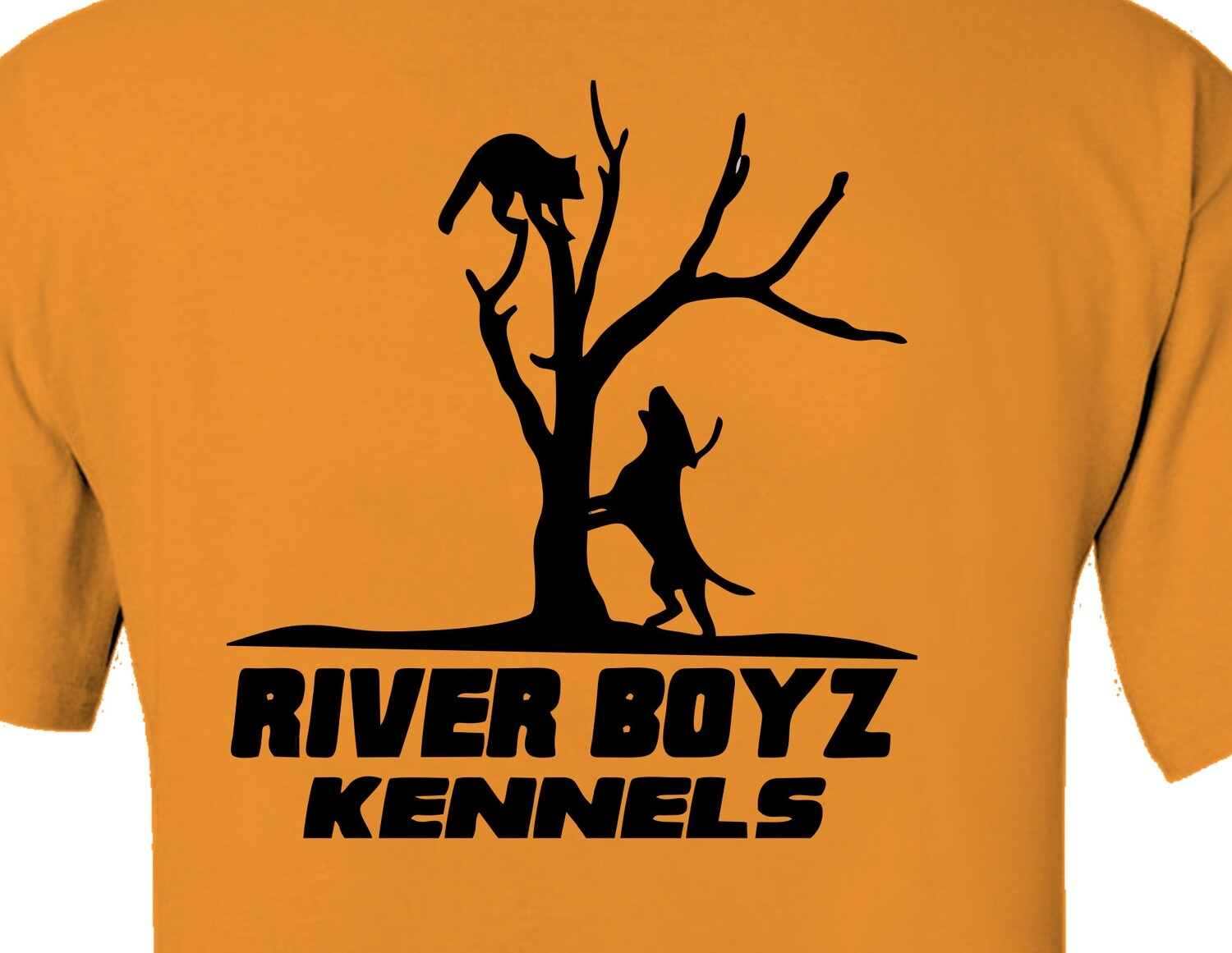Dog Treeing Coon - Short Sleeve Custom Shirt - 15 Colors Available
