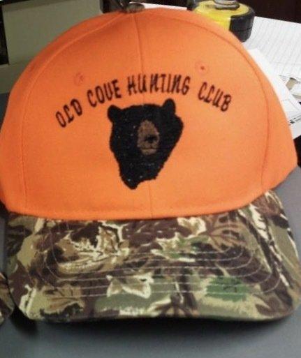 Bear Head Design Flex Fit Custom Hat - 68 Hat Colors Available!!!