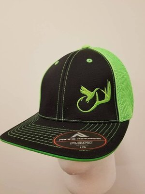 Rack + Horn Adjustable Hat - Customize Yours with 20 Hat Colors and 13 Thread Colors!