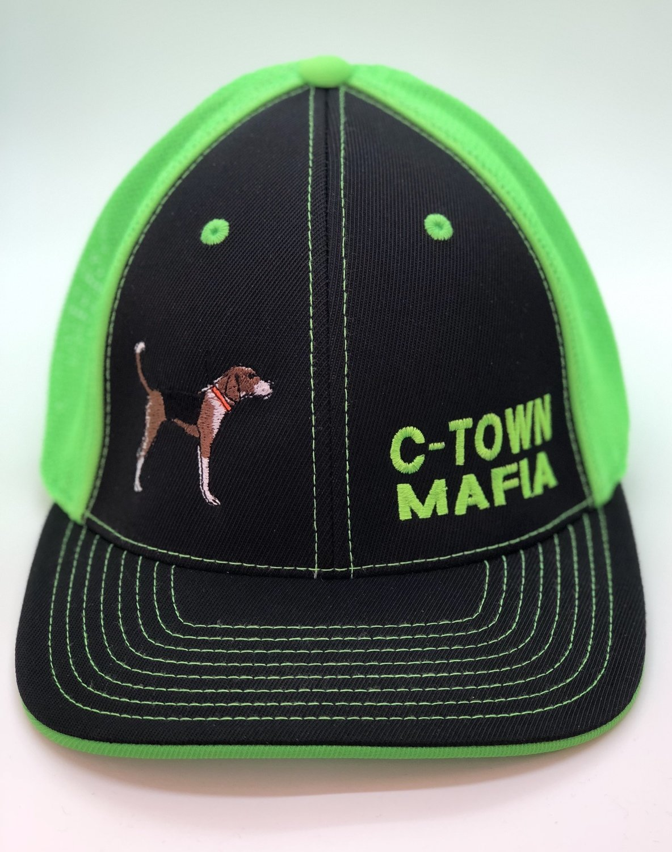 Benching Walker Off Center Adjustable Custom Hat - 44 Hat Colors Available!!!