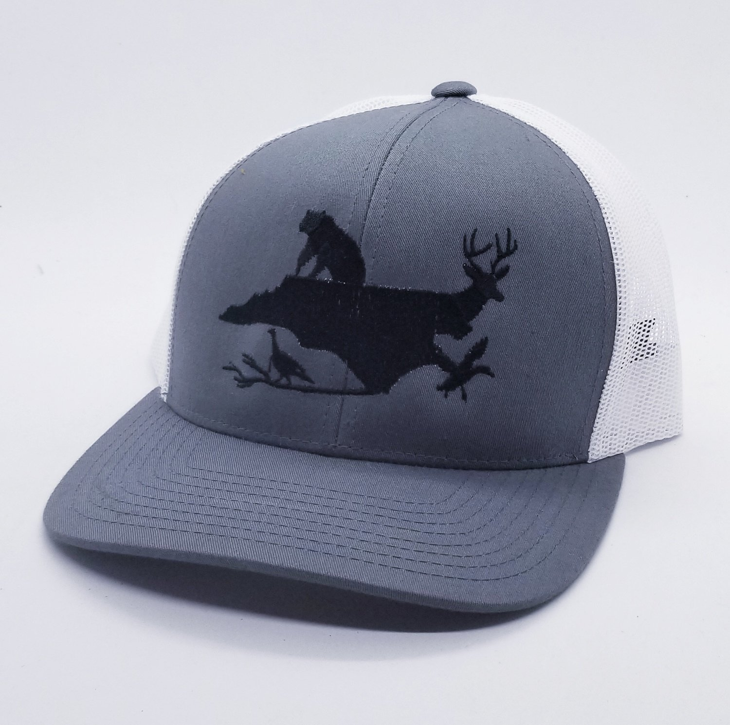 NC Wildlife Adjustable Hat - Available in 6 Colors!