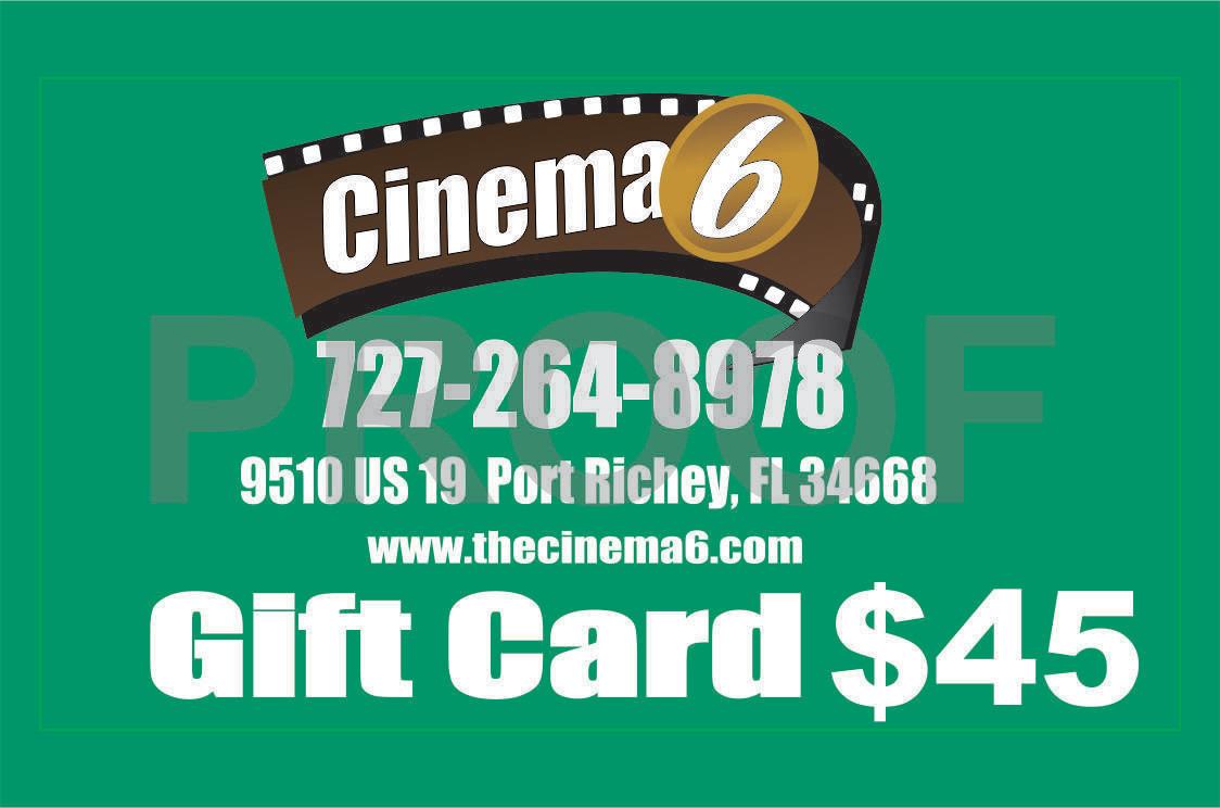 $45 Gift Card