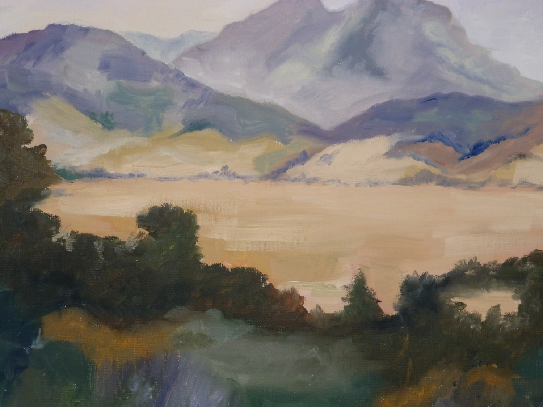 Santa Ynez Valley, Oil, 14x11