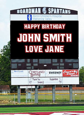 Video-Board Birthday / Anniversary