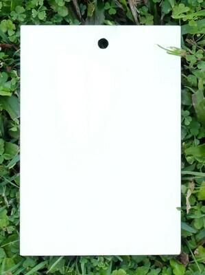 White Matte Laminate Swatch