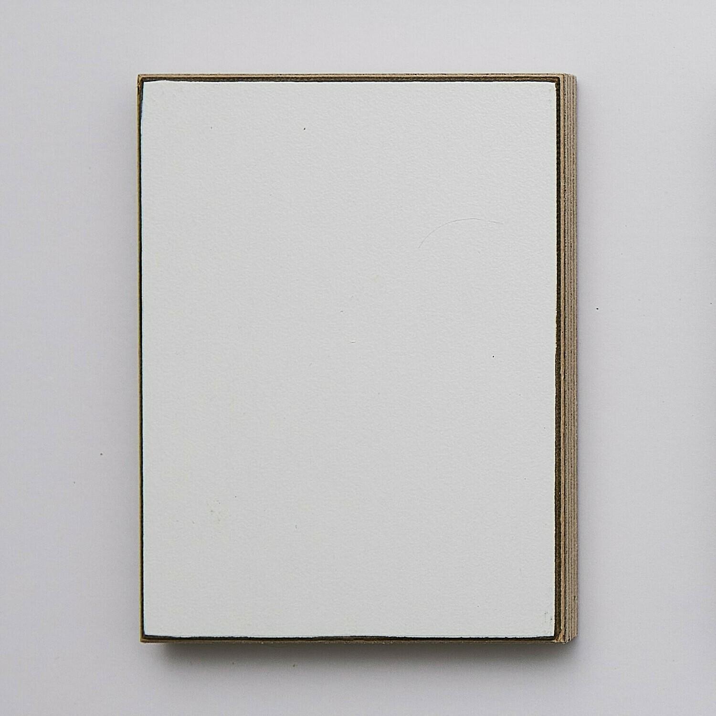 White Laminated Plywood Sample