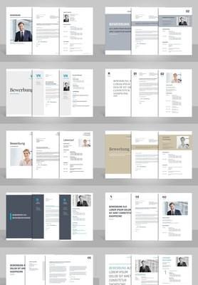 Alle 10 Bewerbungsvorlagen zum günstigen Paketpreis inklusive Anleitungen (für Word, OpenOffice und Google Docs)