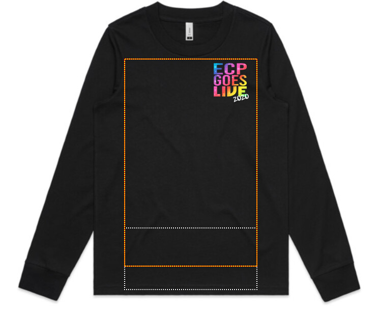 ECP Goes Live Womens Long Sleeve