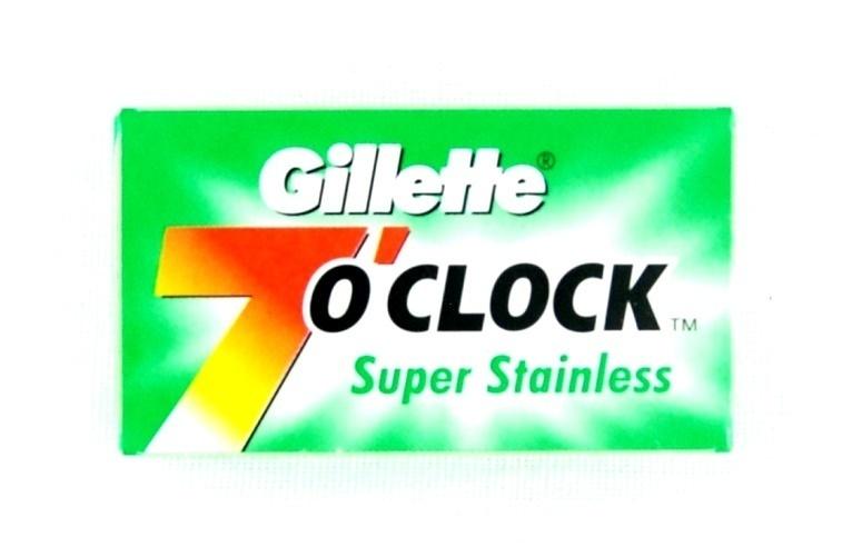GILLETTE 7 O'CLOCK BLADES #260