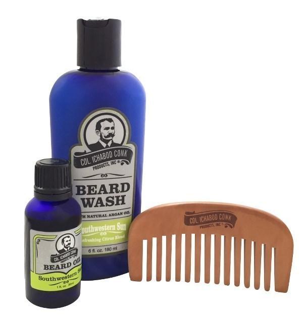 Southwestern Sun & Sm. Comb Beard Kit #4042