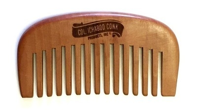 COL CONK SMALL WOOD BEARD COMB #302