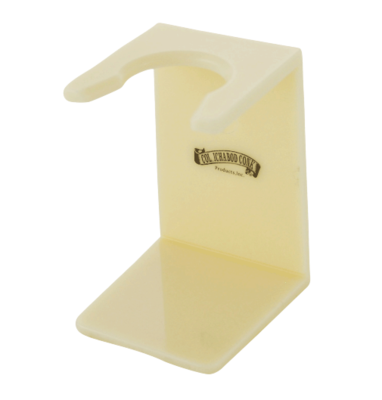 FAUX IVORY ACRYLIC STAND #174