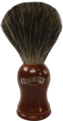 MIXED BADGER ROSEWOOD BRUSH #903