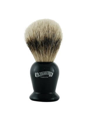 SILVER TIP BADGER FAUX EBONY BRUSH #920