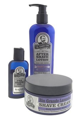 RIO GRANDE LAVENDER SHAVE KIT with Cream #4030