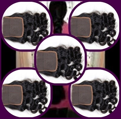 5X5-INDIAN HAIR CLOSURE