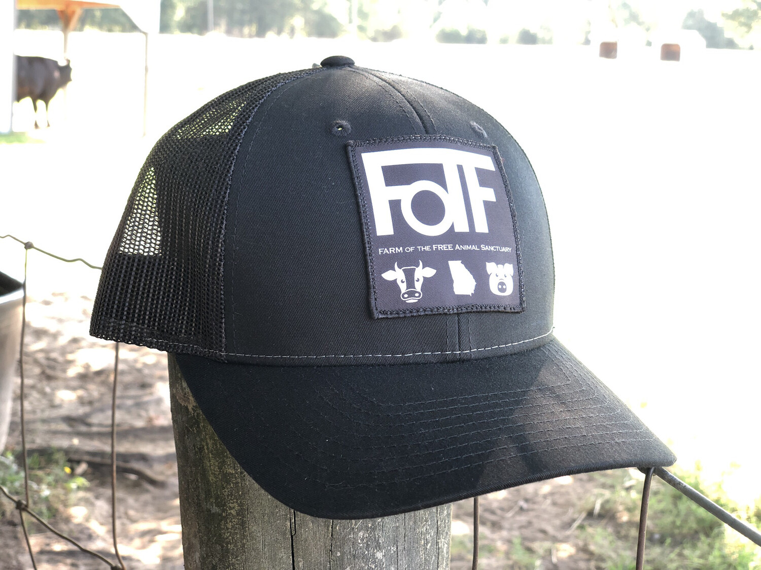 FOTF Trucker Hat (Black)