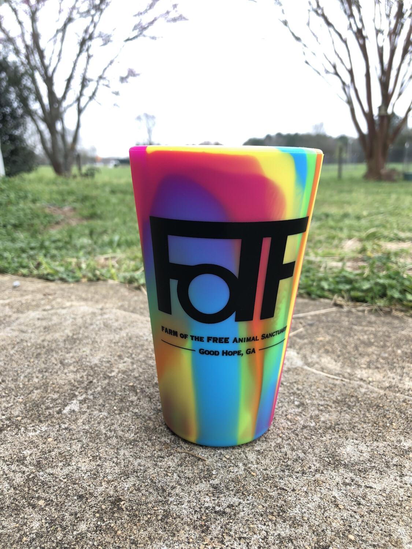 Tie-Dye  FOTF Silicone Pint Cup