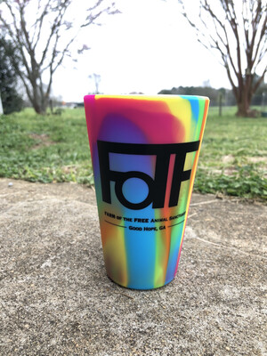 Tie-Dye  FOTF Silicone Pint Cup