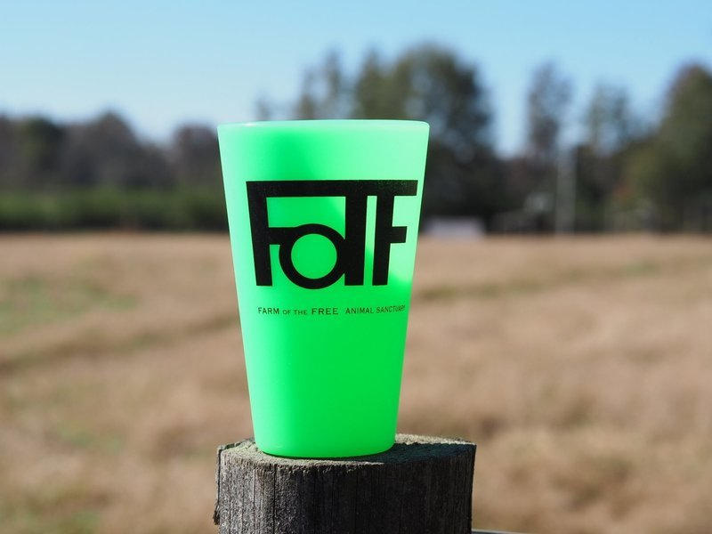 Green (Glow in the dark) FOTF Silicone Pint Cup