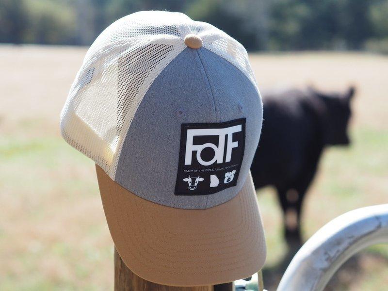 FOTF Trucker Hat (Heather Grey / Birch / Amber Gold)