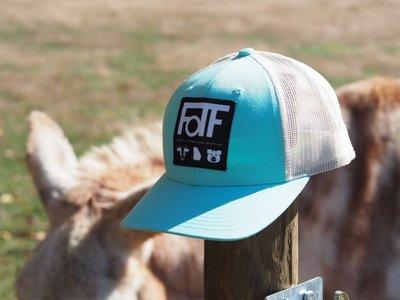 FOTF Trucker Hat (Aruba Blue / Birch)