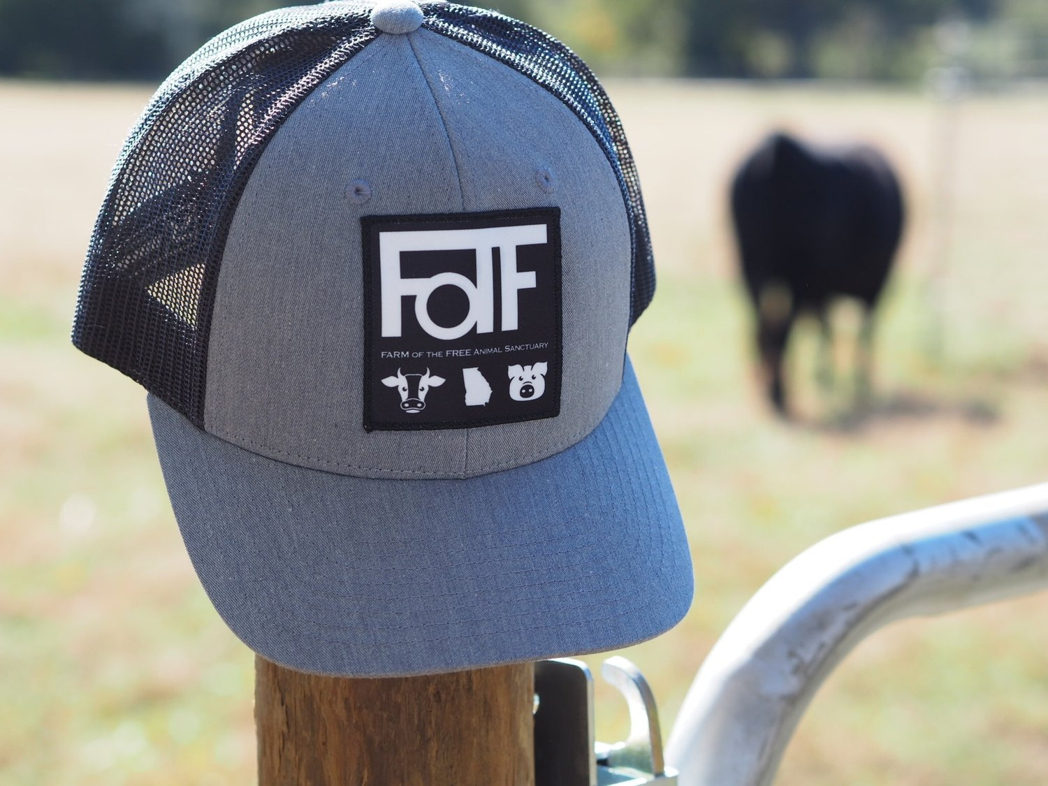 FOTF Trucker Hat (Heather Grey / Dark Charcoal)