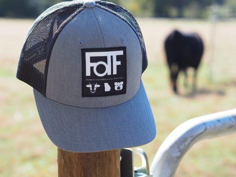 FOTF Trucker Hat (Heather Grey / Dark Charcoal)