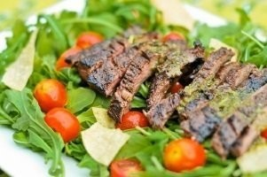 Steak Tips Salad Catering