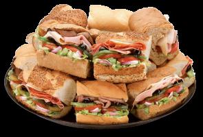 Finger Sandwich Plate Catering