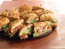 Foccaccia Sandwich Tray Catering