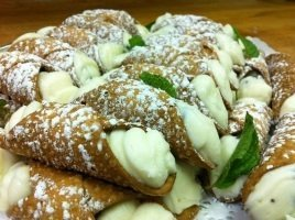 Homemade Cannoli Catering