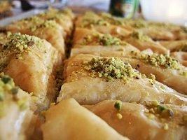 Homemade Baklava Catering