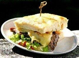 Steak & Hummus Focaccia