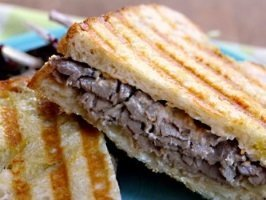 Bistro Roast Beef Panini