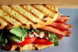 Turkey BLT Panini