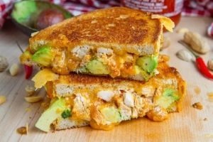 Spicy Chicken Avocado Panini