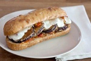 Eggplant Parmesan Sub