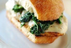 Grilled Chicken w/ Broccoli & Mozzarella Sub