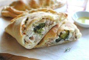 Chicken Broccoli & Cheese Calzone