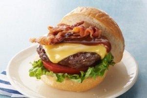 BBQ Bacon Cheeseburger Plate