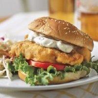 Fish Sandwich Plate