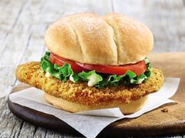 Crispy Chicken Sandwich Plate