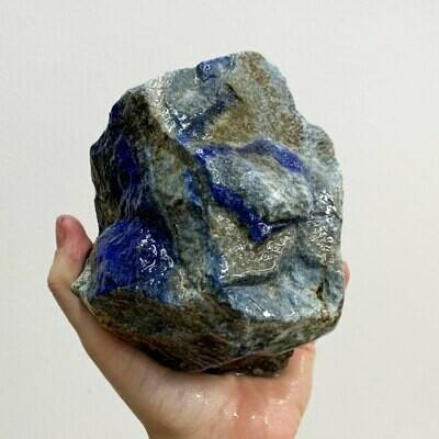 Lapis Lazuli Rough – 3.79 pound piece