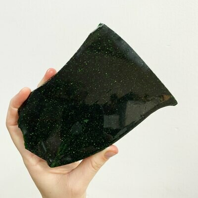 Green Goldstone Slab – 256 grams