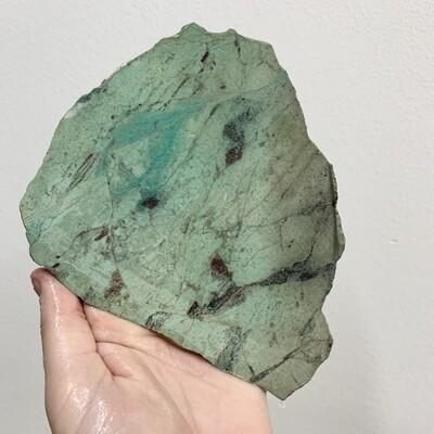 Sonoran Chrysocolla Slab – 239 grams