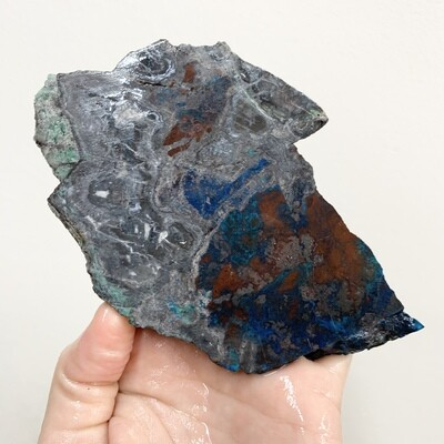Shattuckite Slab – 365 grams