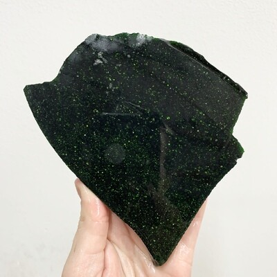 Green Goldstone Slab - 218 grams