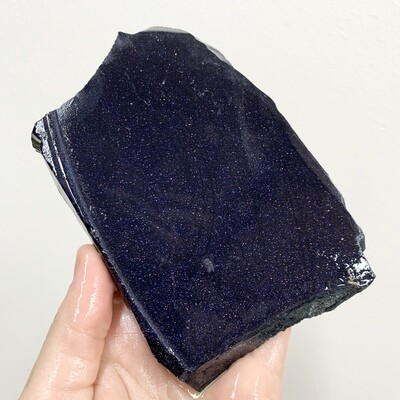 Blue Goldstone Slab – 165 grams